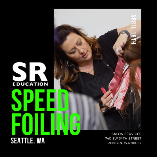 speed foiling highlighting and color placement class in seattle washington