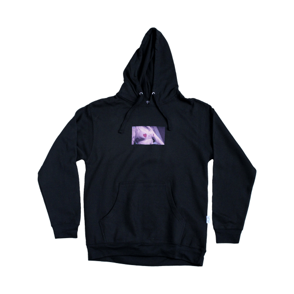 Heart Tits Pullover Hoodie