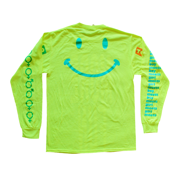 More Fun 2 Neon Yellow Longsleeve Tee