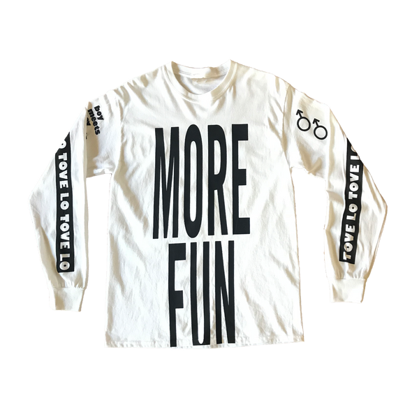 More Fun Long Sleeve Tee