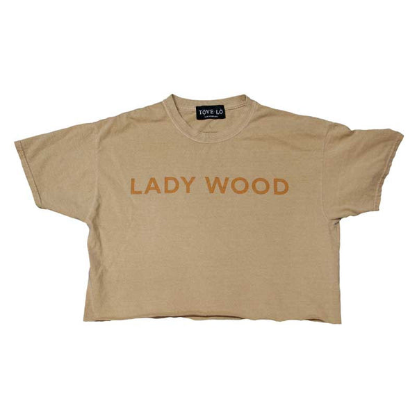 Lady Wood DIY Cropped Tee