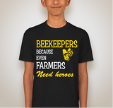 Beekeepers are Heros T-shirt