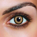 Dual Colour Brown Contact Lenses (Pair)