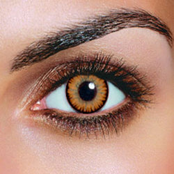 Dual Colour Hazel Contact Lenses (Pair)