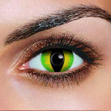 Green Devil Contact Lenses (Pair)