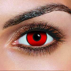 Red Out Contact Lenses (Pair)