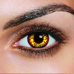 Red Wolf Contact Lenses (Pair)