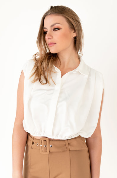 Cloud white blouse