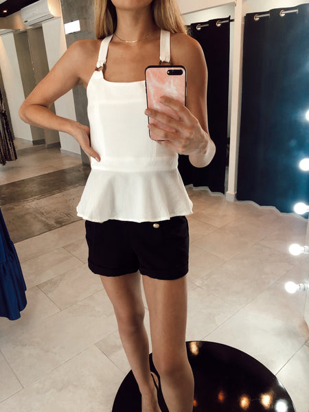 White Basic Top