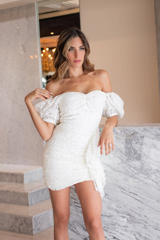 Luciana Balderrama - Falling Into You Mini Dress