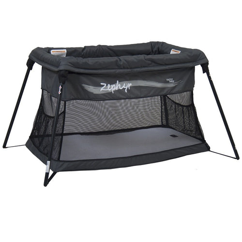 Valco Baby Zephyr Travel Cot | Travel Cot Hire | Sleepy Lion - Sydney Baby Equipment Hire