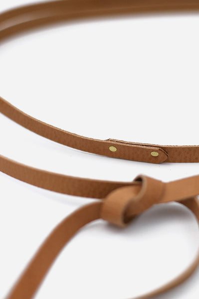 Hemlock + Hyde Leather Wrap Belt