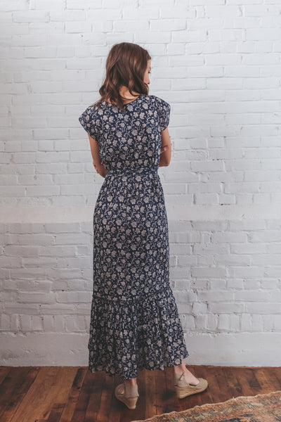 Stella Garden Wrap Dress - Prairie Floral