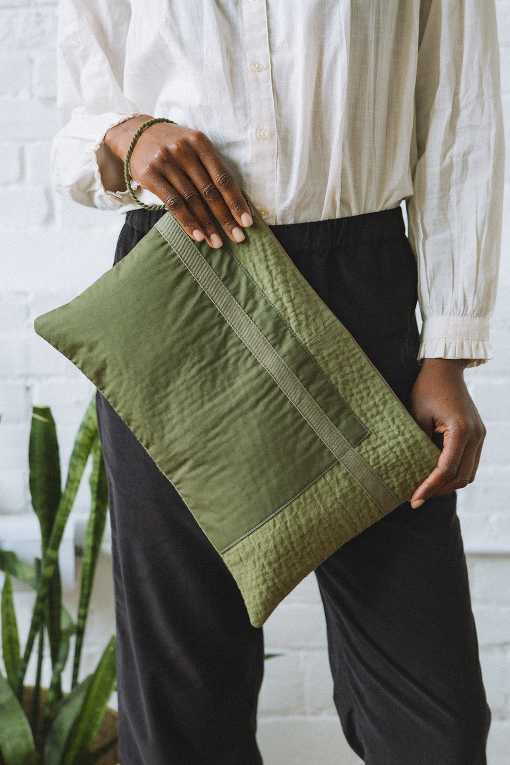 Hamid Holloman Quilted Clutch