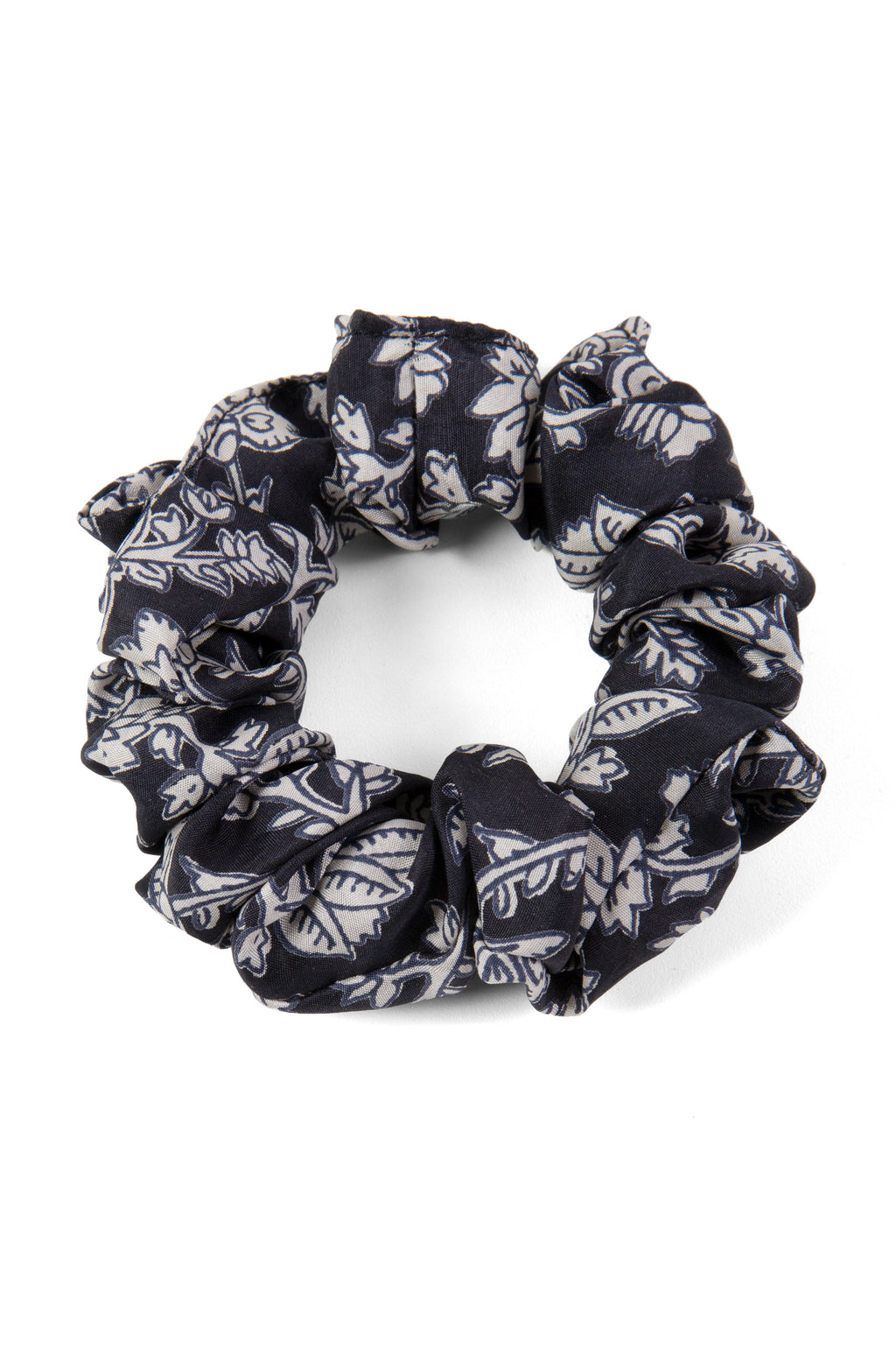 Midnight Prairie Print Scrunchie