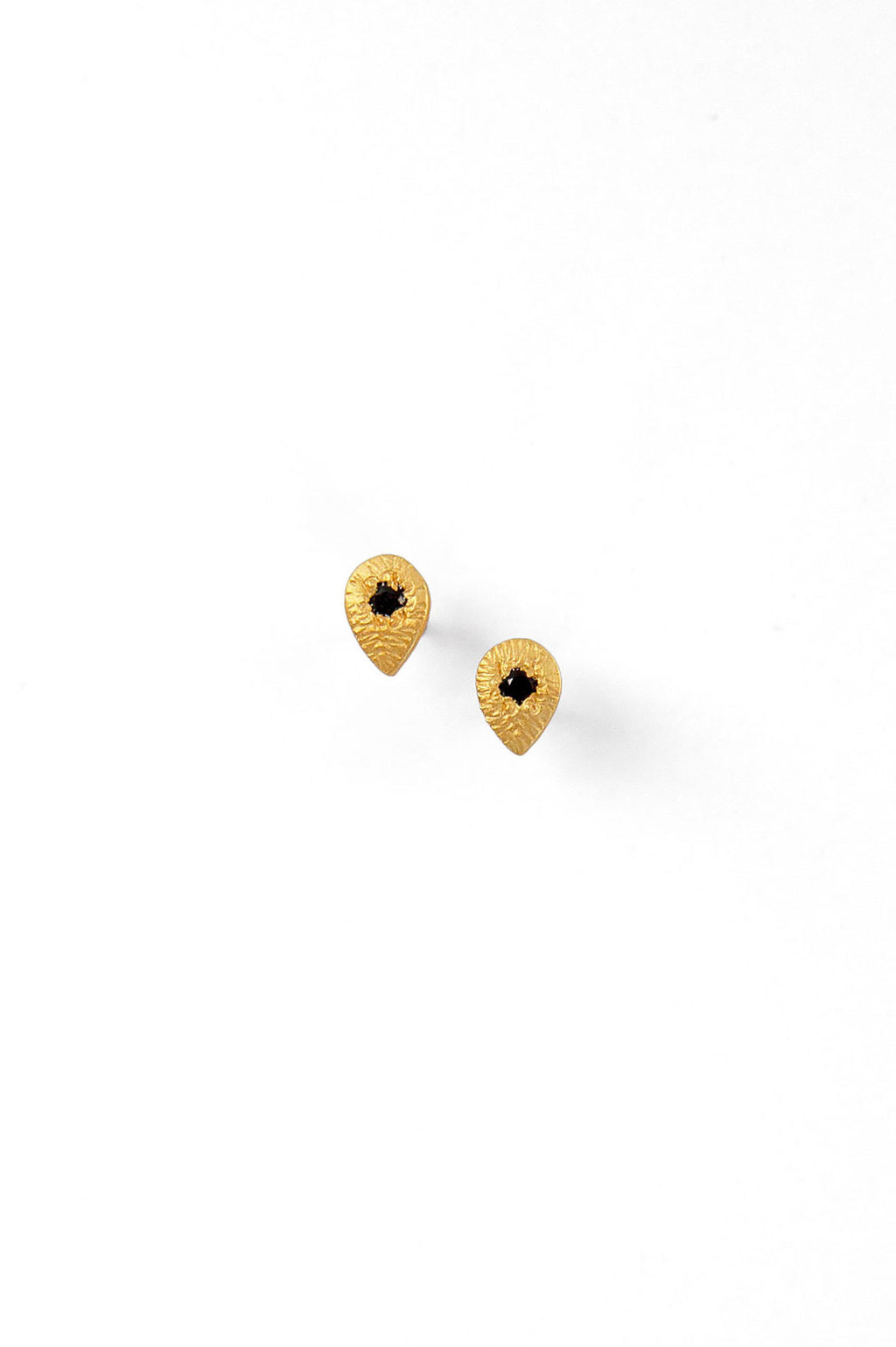 Ebony Evil Eye Earrings