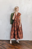 Kazuko Linen Wrap Dress