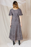 Harriet Ruffle Sleeve Prairie Dress