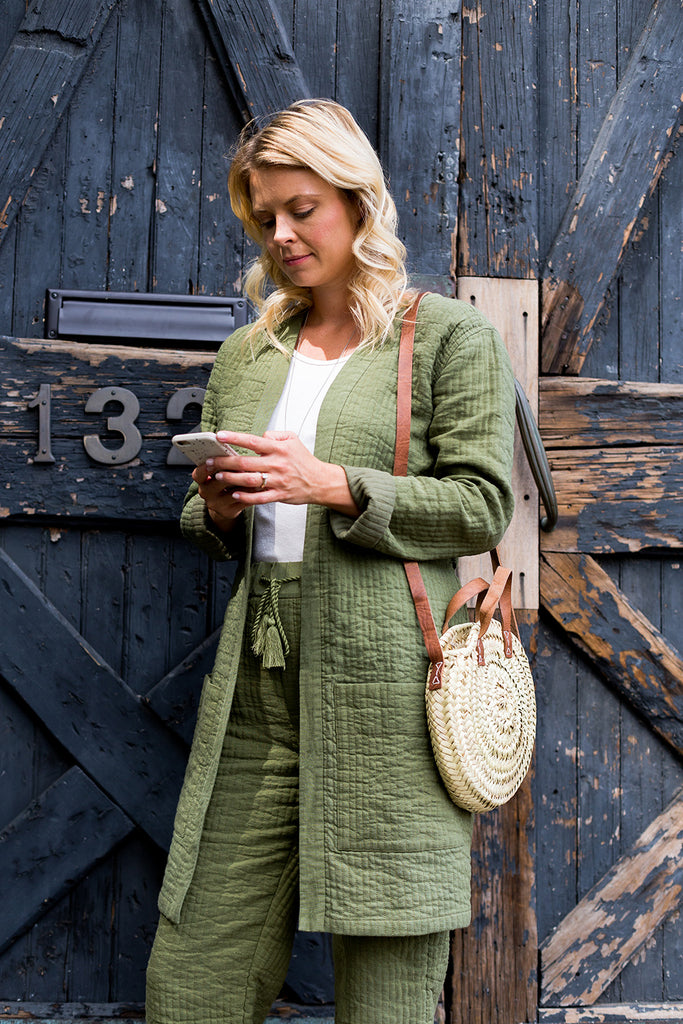 Rita Quilted Trouser