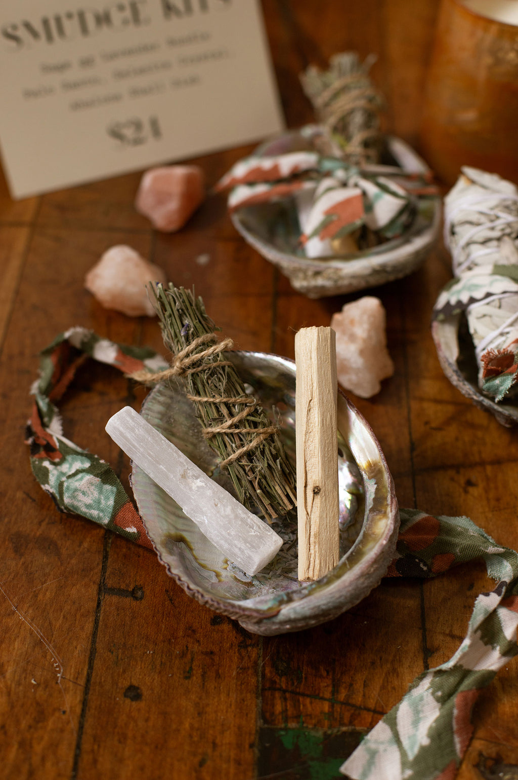 Lavender Smudge Kit