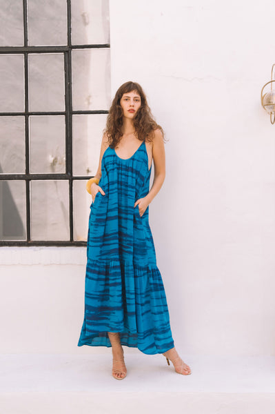 Palladio Low Back Maxi Dress