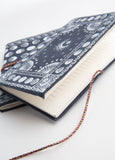 Moonphase Bandana Duo, Navy  2 Fabric Journals
