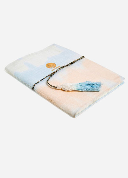 Gradient Tie Dye Gauze Journal