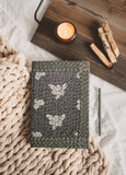 Kantha Stitched Floral Journal
