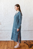 VOLOSHIN NOVA SHIRTDRESS DENIM STRIPE 2
