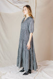 Willow Silk Peasant Dress