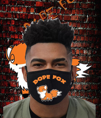 DopeFox face mask ( DopeFox fox )