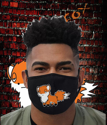DopeFox face mask.   ( Big Fox)