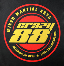 Crazy 88 Martial Arts Medium BJJ Custom BJJ Patch