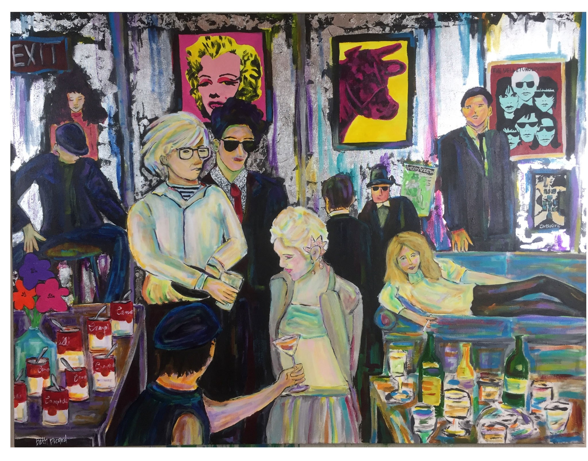 andy warhol throws a party