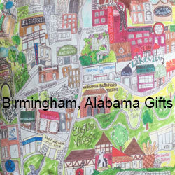 birmingham alabama pillows, leggings and gifts