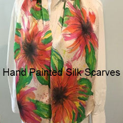 hand painted silk scarves by beth picard