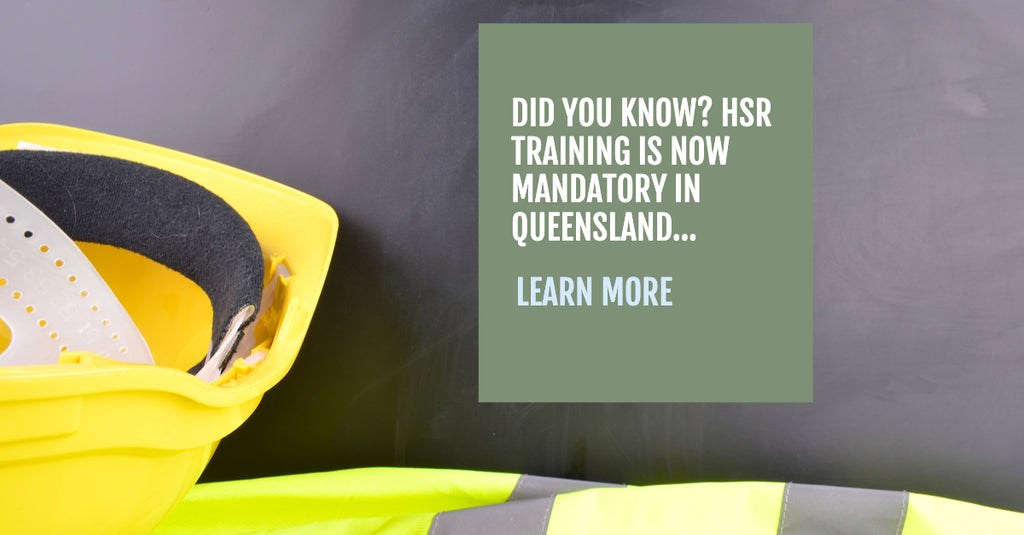 Rebekah Jensen from Queensland Government talks about the changes to HSR Training