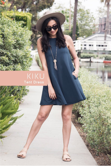 KIKU Tent Dress - Origamei