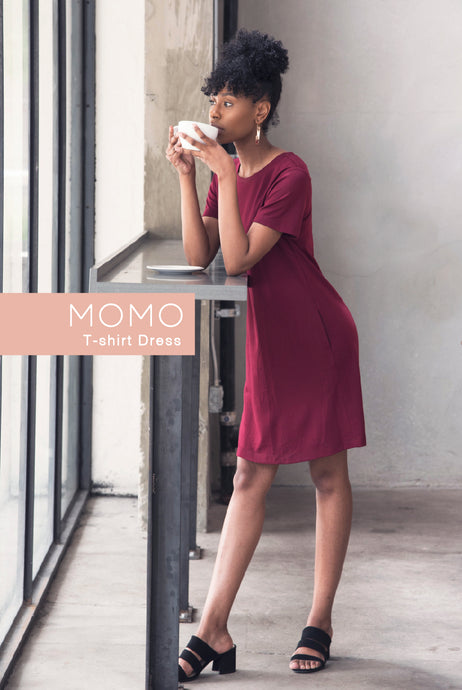 MOMO T-shirt Dress - Origamei