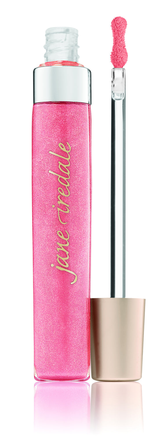 Pink Smoothie - PureGloss Lip Gloss - The English Rose Organic Spa