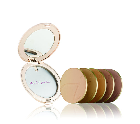 Rose Gold Refillable Compact - The English Rose Organic Spa