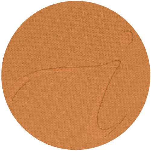 Warm Brown - PurePressed Base SPF 15 Foundation Refill - The English Rose Organic Spa