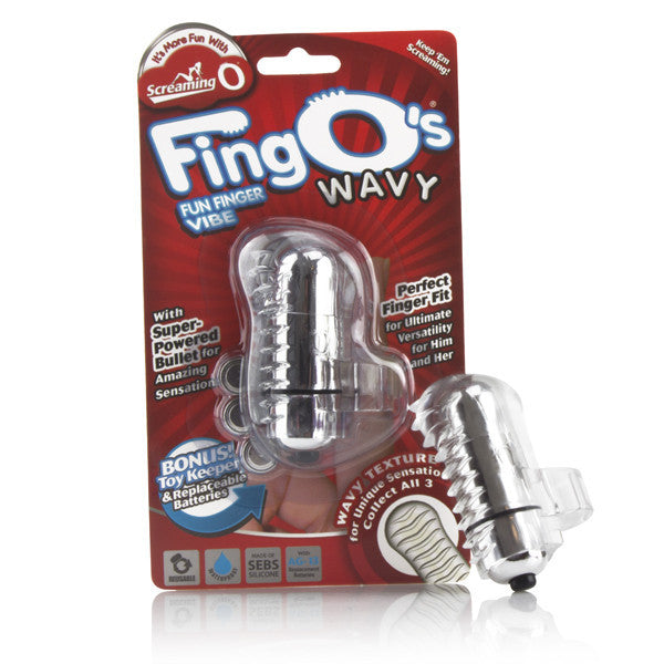 Screaming O FingO Clear Wavy