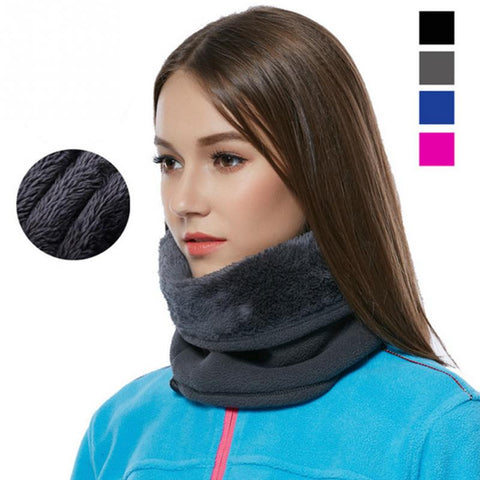 Fashion Scarf 2016 Ring Scarves Fleece Neck Warmer Snood Scarf Hat Thermal Ski Wear Snowboard Muffler Neckerchief