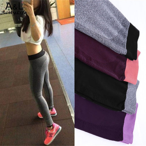 High Quality Women Sporting Leggings For Yuga Sporting Fitness Clothing Leggings Women Pants Elastic Jegging 67
