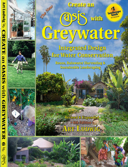 Create an Oasis with Greywater - 6th ed - 30 book case