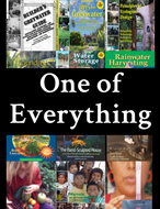One of Everything:  books/video (10% OFF) & downloads (FREE)