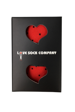 Biz Dots Red Box (1) - LOVE SOCK COMPANY