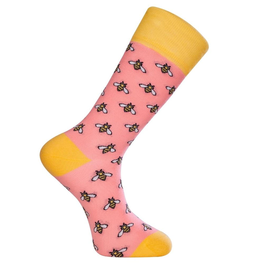 Polka Dots Red Socks (W)