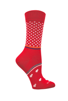 Women's casual socks bundle | Navy, red and black organic cotton socks